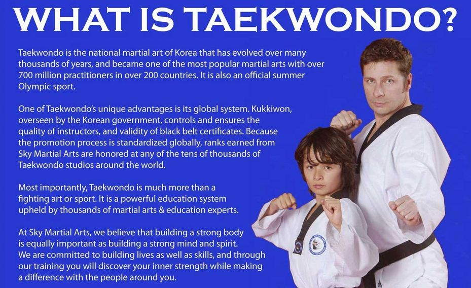 studying martial arts is good for mind and health