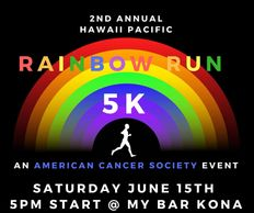 Rainbow Run, Pride Run Hawaii, Kona Pride Run, Kona Rainbow Run, Hawaii Island Pride, Gay Pride