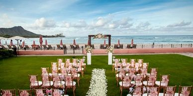 Royal Hawaiian Hotel, Sheraton Waikiki, Moana Surfrider, Gay Weddings, LGBT Weddings, Hawaii Wedding