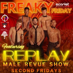 Replay Male Revue, Hawaii Male Revue Show, Waikiki Male Revue Show, Hawaii Male Strippers