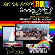 Gay Pride Boat Cruise, Gay Catamaran, Gay Booze Cruise, Kona, Hawaii, LGBTQ Pride, LGBT Hawaii, Gay