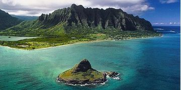 China Man's Hat, Best Hawaii Gay Sights To See, North Shore Oahu, Gay Travel Hawaii, Gay Travel Oahu