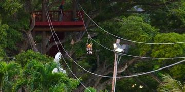 Oahu Zip Line, Bay View Zip Line, Hawaii Zip Line, Gay Zip Lining, Gay Hawaii Zip Line, Kaneohe