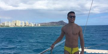 Hula's Catamaran, Best Gay Catamaran, Best Gay Oahu Catamaran, Gay Party Boat, Gay Booze Cruise