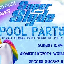 Honolulu Pride Pool Party, SuperSlyde Pool Party, Gay Island Guide, Waikiki Pool Party