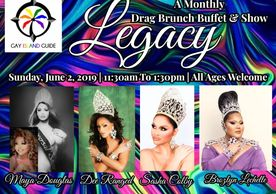 Legacy Drag Brunch, Universal Show Queen, Waikiki Drag Brunch, Hyatt Centric Waikiki, Gay Pride, LGB