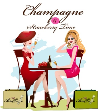 Champagne & Strawberry Time