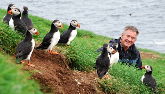 Nigel Marven and Puffins