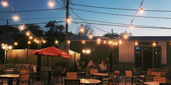 patio, bike trail, Chichaqua Valley trail, beer, drinks, near me, happy hour, burgers, live music,