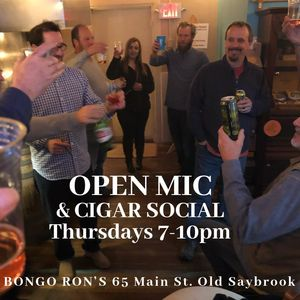 Open mic every Thursday at Bongo Ron's