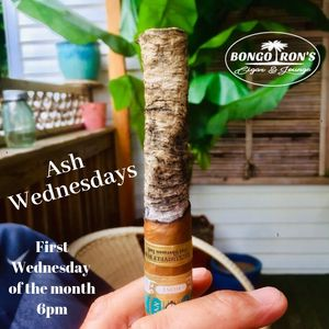 Cigar ash contest at the best cigar lounge in Connecticut!!