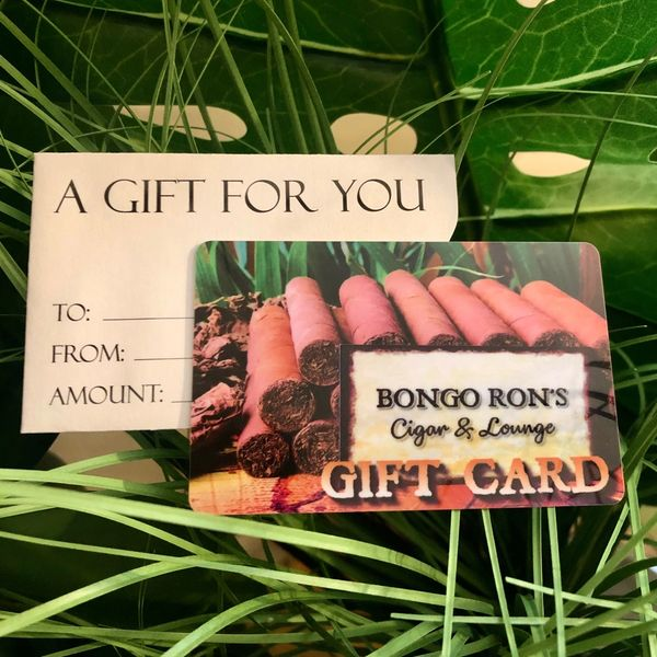 Bongo Ron's gift cards.  Great way to support local business on the Connecticut Shoreline!