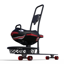 longboard buddy stroller for a skateboard or longboard