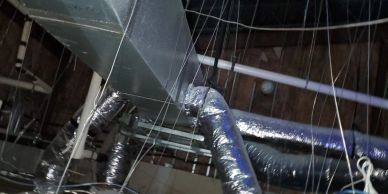 Our latest project of commercial Air Duct Cleaning