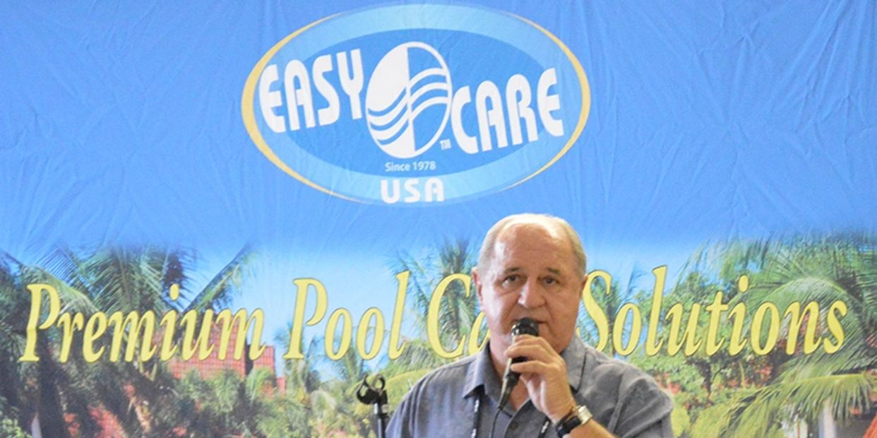 Marvin Resac speaking about the McGrayel Company, Inc. EasyCare Water Products.