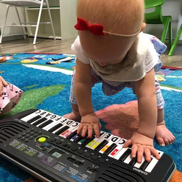 Music Lessons for 7 month old child