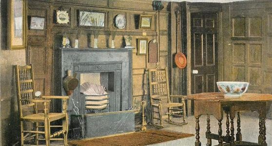 The Nelson Room, the Three Cups, Harwich, circa 1905