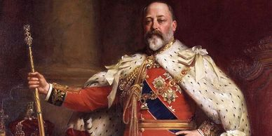 The Three Cups Harwich - King Edward VII of England