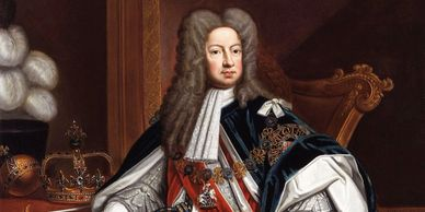 The Thee Cups Harwich - King George I of England