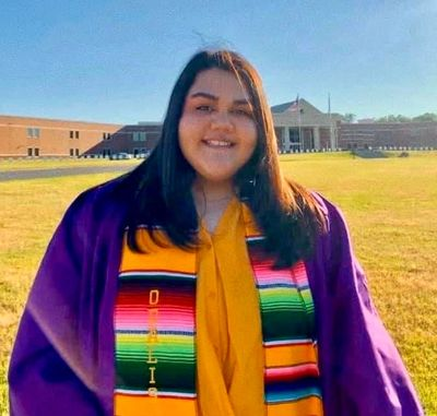 Odalis Villegas, a 2020 ARKTESOL Scholar and graduate of El Dorado High School.