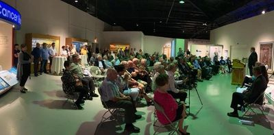 Launch event at the Western Development Museum in Saskatoon on June 28, 2019
