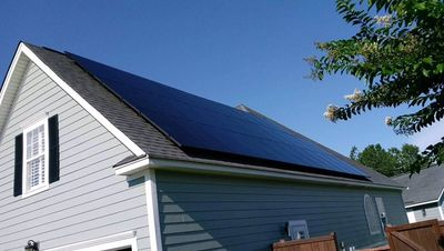 Low cost Solar panels form home installed by SC Solar