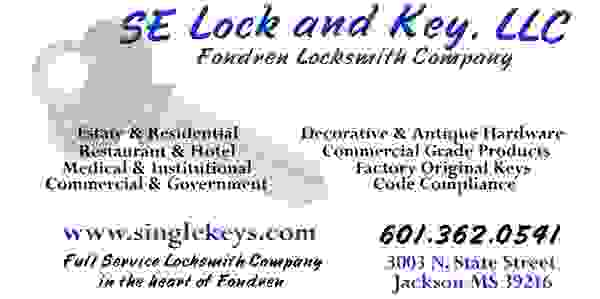SE Lock and Key Business Card