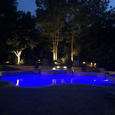 Pool & Landscape Lighting in Montgomery, TX