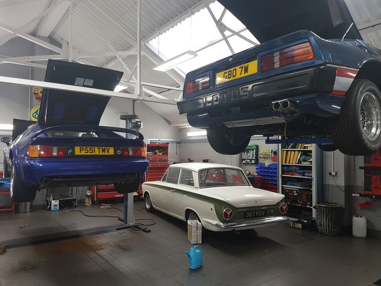Lotus Esprit S4S, Lotus Cortina Mk1, Lotus Essex Esprit