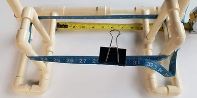 Quick Starter MDA with measure showing waist size