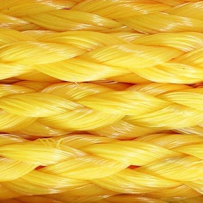 Yellow Poly-Propylene Cargo Net Rope