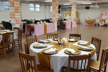 Stage your wedding and family gathering at the Julia de Burgos Cultural Arts Center in Cleveland.