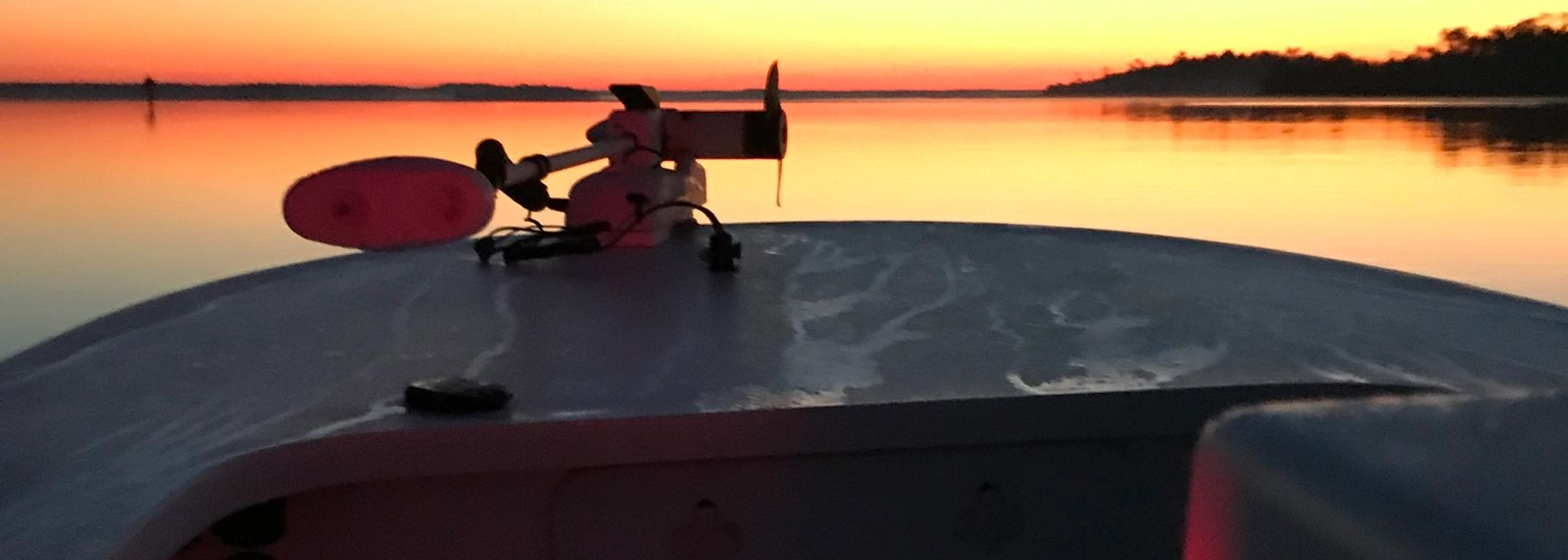 Sunrise fishing charter in Charleston