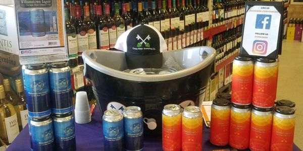 tasting room craft beer local brewery williamstown new jersey pints ckbc sampling event brewery swag