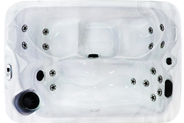 3 person hot tub, Cal Spa Balboa 110V Outlet