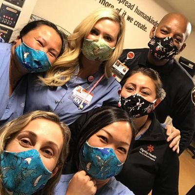 The Domestic Tiki CBD, covid 19 PPE, protective mask donation effort. Some of the medical professionals we have protected.