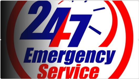 We have 24/7 emergency services   * After hour charges may apply