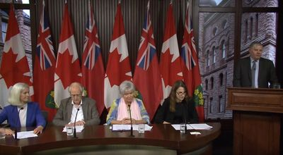Video of Media Release - Ontario Doctors Warn of Rising Health Care Costs after 5G Roll Out