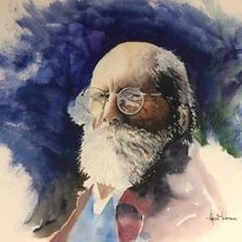 Watercolor, Artist, Art, Art Gallery, Painting, watercolor portrait, Artwork, Portrait, Arts