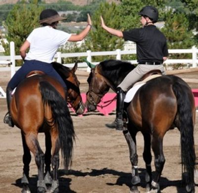 horse riding and sportsmanship