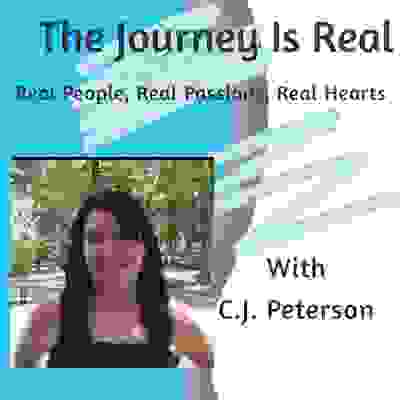 The Journey Is Real Podcast Cover and Logo