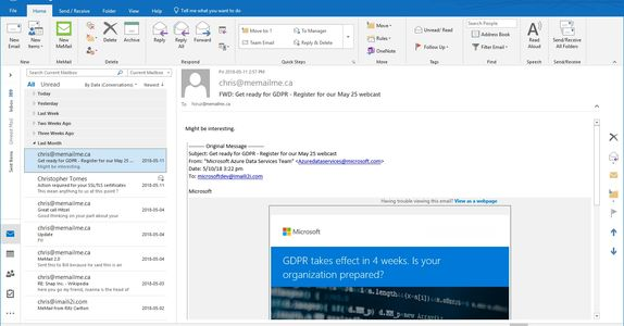 Our new Outlook interface coming soon
