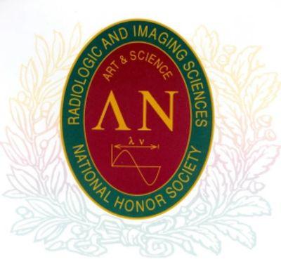 Lambda Nu Radiologic and Imaging Sciences National Honor Society Logo