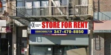 Retail Space for Lease at 1731 Pitkin Ave. Brooklyn NY Approximately 2,400 Sq. Ft. with basement