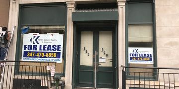 Retail or Office Space available for lease at 130 Atlantic Ave. Brooklyn NY 11201