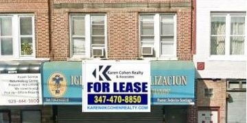 Retail Space for Lease 1800 Square Feet at 934 McDonald Ave. , Brooklyn NY 11218