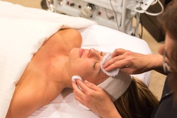 Corrective relaxing facial in Lake Nona