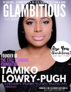 Tamiko Lowry-Pugh, Glambitious Magazine. Helping Women turn their Wounds into Wisdom.