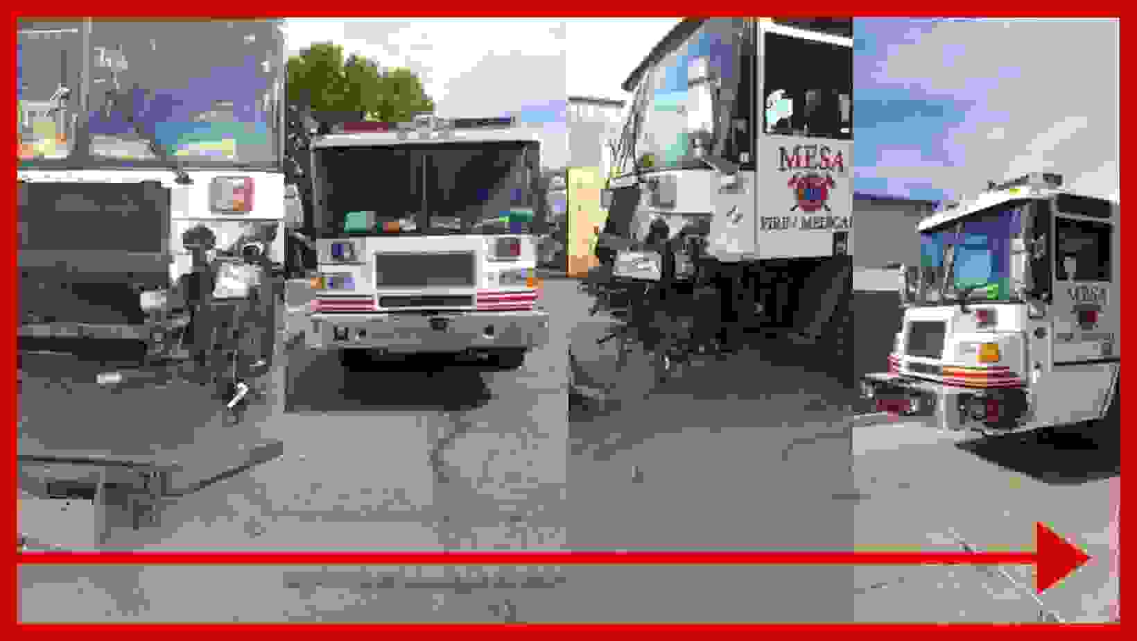 Fire Truck collision repair, ambulance collision repair and paint, emergency vehicle collision repai