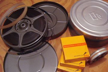image of metal film canisters
